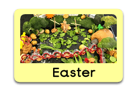 Easter Story Themed Tuff Trays for Toddlers-EYFS Children - Learning Through Play Sessions