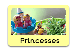Princesses Themed Tuff Trays for Toddlers-EYFS Children - Learning Through Play Sessions