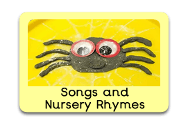 Children's Nursery Rhymes and Songs Themed Tuff Trays for Toddlers-EYFS Children