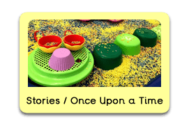Children's Stories and 'Once Upon a Time' Themed Tuff Trays for Toddlers-EYFS Children