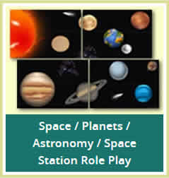 Space Planets Astronomy teaching resources