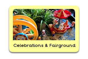 Fairground Themed Tuff Trays for Toddlers-EYFS Children - Learning Through Play Sessions