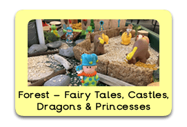 Fantasy Forest Themed Tuff Trays for Toddlers-EYFS Children - Learning Through Play Sessions