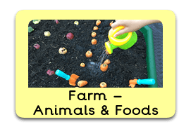 Fun on the Farm Themed Tuff Trays for Toddlers-EYFS Children - Learning Through Play Sessions