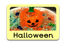 Halloween Tuff Trays for Toddlers-EYFS Children - Learning Through Play Sessions