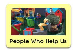 Helpful Heroes Themed Tuff Trays for Toddlers-EYFS Children - Learning Through Play Sessions