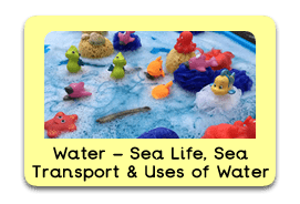 Wonderful Water Themed Tuff Trays for Toddlers-EYFS Children - Learning Through Play Sessions