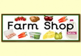 Farm Shop Role Play Resources