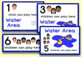 How Many Children... Water Area Signs