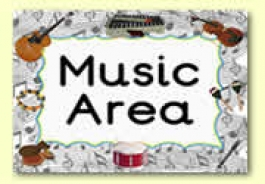 Music Area Resources