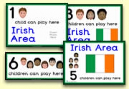 How Many Children... Irish Area Signs