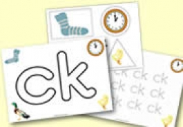 ck' Themed Phonic Activities for the Early Years