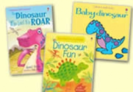 Animals, Sealife & Dinosaur Books