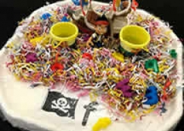 Phonics Tuff Tray Ideas - Photos