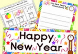 New Year Teaching Resources