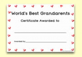 Grandparent's Day Resources