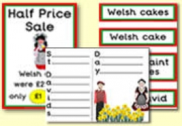 Saint David's Day / Wales Teaching Resources