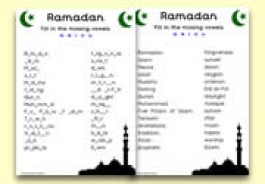 Ramadan Themed Resources