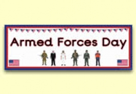 Armed Forces Day Resources