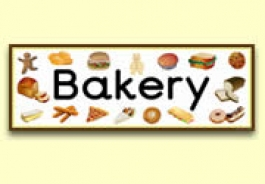 Bakery Role Play Resources