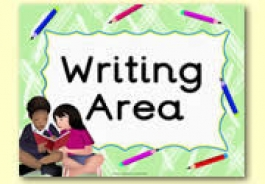 Writing Area Resources