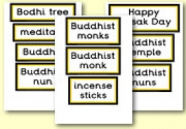 Buddhism - Vesak / Wesak / Buddha Day Themed Resources