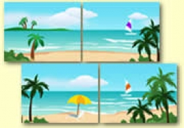 Seaside Holidays Themed Resources
