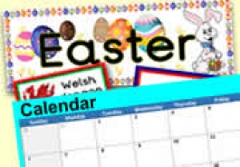 Spring Topics & Celebrations with CALENDAR DATES