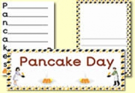 Pancake Day / Shrove Tuesday Resources