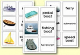 Sea Transport Themed Resources