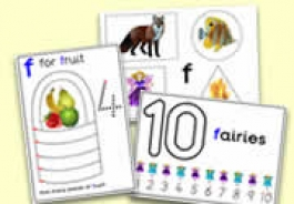 'f' Themed Activities