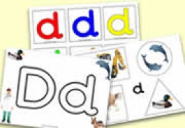 'd' Themed Activities