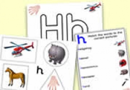 'h' Themed Activities