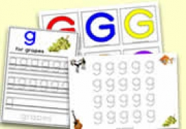 'g' Themed Activities