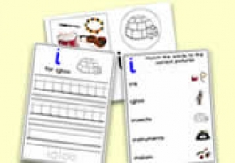 'i' Themed Activities