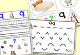 'q' Themed Phonics/Letter Sounds Activities for Foundation Phase / Early Years