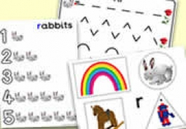 'r' Themed Phonics/Letter Sounds Activities for Foundation Phase / Early Years