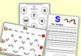 's' Themed Activities