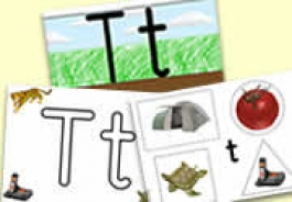 't' Themed Activities
