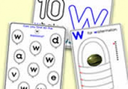 'w' Themed Activities