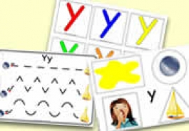 'y' Themed Activities