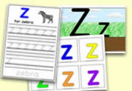 'z' Themed Activities