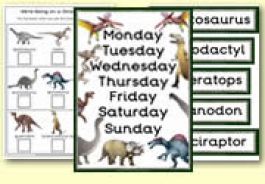 Dinosaurs Themed Resources