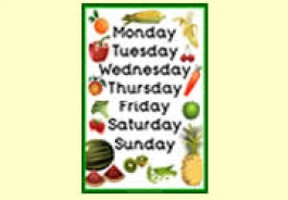 Fruit and Vegetables Theme Resources