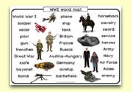 World War One Teaching Resources
