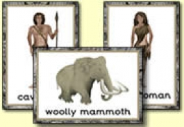 Early Man / Caveman Themed Resources