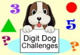 FREE Digit Dog Maths Challenges by Lynwen Barnsley Numeracy Consultant