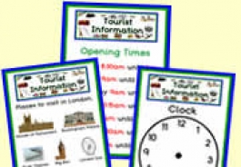 Tourist Information Role Play Resources