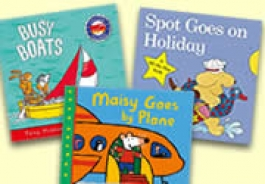 Holidays, Transport & Travel Themed Books