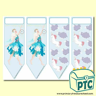 Serenity the Sweet Dreams Fairy Themed Bookmarks